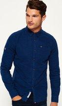 Camicia Blu uomo Camicia a maniche lunghe Ultimate Oxford