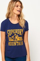 T-shirt Navy donna T-shirt Jamie Boyfriend