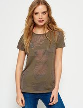 T-shirt Verde donna T-shirt Essential Pocket
