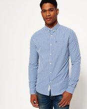 Camicia Blu uomo Camicia con colletto abbottonato London