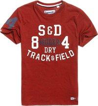 T-shirt Rosso uomo T-shirt Trackster