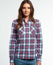 Camicia Rosa donna Camicia New Lumberjack Twill