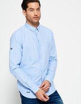 Camicia Blu uomo Camicia Modern Classic