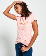 T-shirt Corallo donna T-shirt City of Dreams