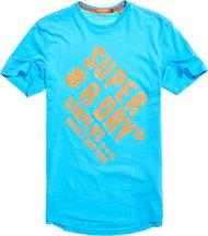 T-shirt Blu uomo T-shirt grafica lunga Surplus Goods