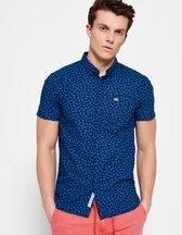 Camicia Blu uomo Camicia con colletto abbottonato Ghost