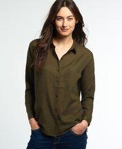 Camicia Verde donna Camicia Santorini Boyfriend