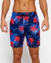Costume Blu uomo Pantaloncini da bagno Vacation Paradise