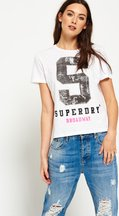 T-shirt Bianco donna T-shirt Capitol S Boxy