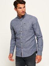 Camicia Blu uomo Camicia Oxford Academy