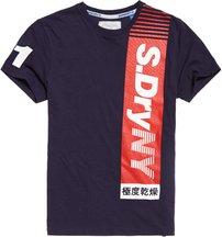 T-shirt Navy uomo T-shirt Sport Vertical