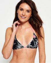 Costume Nero donna Top bikini a triangolo Marbled Hawaiian