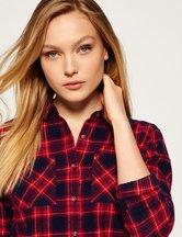 Camicia Rosso donna Camicia in twill Lumberjack