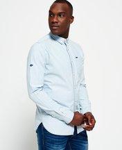 Camicia Blu uomo Camicia Indigo Loom Oxford