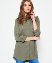 Camicia Verde donna Camicia oversize Jackson