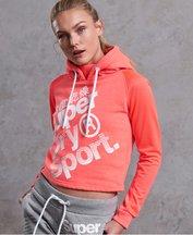 Felpa Corallo donna Felpa con cappuccio Hyper Sport Label