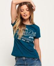 T-shirt Turchese donna T-shirt con strass Original