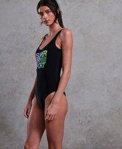 Costume Nero donna Costume intero SD Sport