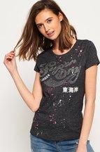 T-shirt Nero donna T-shirt Classic Script