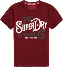 T-shirt Rosso uomo T-shirt NYC Goods Co