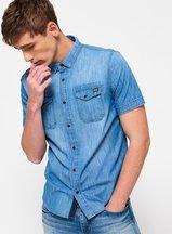 Camicia Blu uomo Camicia Dragway Denim