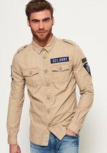 Camicia Beige uomo Camicia a maniche lunghe Army Corps Lite