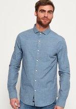Camicia Blu uomo Camicia Cut Away Collar
