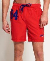 Costume Rosso uomo Pantaloncini da bagno Waterpolo
