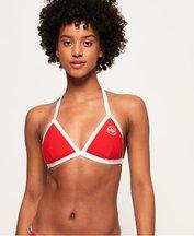 Costume Rosso donna Top Bikini Trio Colour Tri