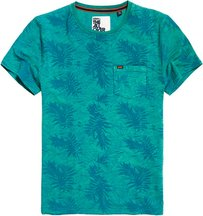 T-shirt Verde uomo T-shirt Lite con stampa integrale Whistler