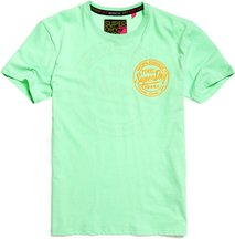 T-shirt Verde uomo T-shirt Ticket Type Box Fit