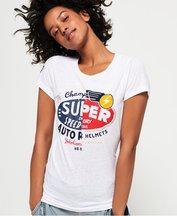 T-shirt Bianco donna T-shirt Gasoline Slice