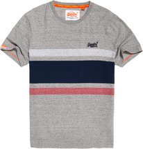 T-shirt Grigio Chiaro uomo T-shirt a righe Hardwick Orange Label