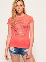 T-shirt Arancione donna T-shirt Tokyo Sports Foil