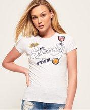 T-shirt Grigio Chiaro donna T-Shirt Jaime Patch