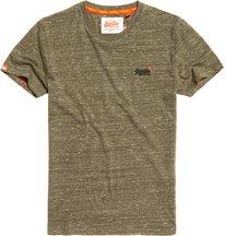 T-shirt Verde uomo T-shirt ricamata Vintage Orange Label