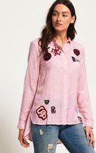 Camicia Rosa donna Camicia Frankie