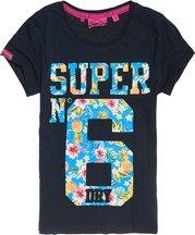 T-shirt Navy donna T-shirt Super No. 6