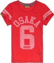 T-shirt Rosso donna T-shirt Osaka Sport