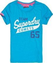 T-shirt Blu donna T-shirt Comets Track