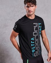 T-shirt Nero uomo T-shirt Ultra Vertical