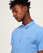 Camicia Blu uomo Camicia Beach Side Slim