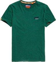 T-shirt Verde uomo T-shirt ricamata Orange Label Vintage
