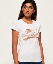 T-shirt Grigio Chiaro donna T-shirt goffrata High Flyers
