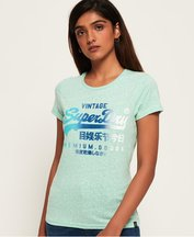 T-shirt Verde donna T-shirt Premium Goods Side Fade