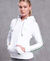 Felpa Bianco donna Felpa con cappuccio Mega Sport Label