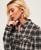 Camicia Grigio donna Camicia a quadri Imogen Lumberjack