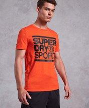 T-shirt Arancione uomo T-shirt Core Graphic