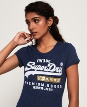 T-shirt Nero donna T-shirt sportiva Premium Goods