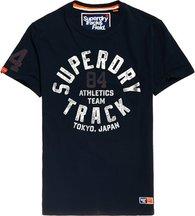 T-shirt Navy uomo T-shirt Metallic Track and Field